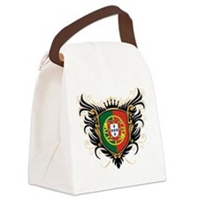 Portugal Crest Canvas Lunch Bag