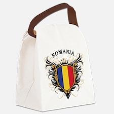 Romania Canvas Lunch Bag