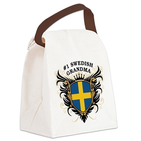 n1_swedish_grandma.png Canvas Lunch Bag