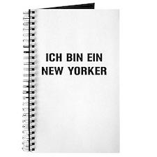"""""""Ich Bin Ein New Yorker"""" Journal"""