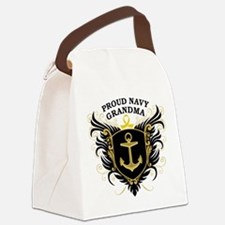 proud_navy_grandma.png Canvas Lunch Bag