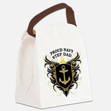 proud_navy_stepdad.png Canvas Lunch Bag