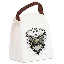 Proud Air Force Aunt Canvas Lunch Bag