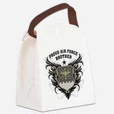 Proud Air Force Brother Canvas Lunch Bag