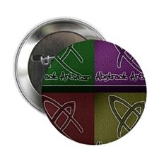 "Abstract Artwear 2.25"" Button"