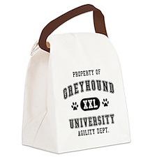 Property of Greyhound Univ. Canvas Lunch Bag