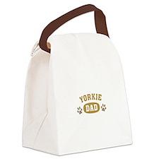 Yorkie Dad Canvas Lunch Bag