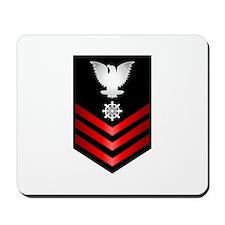 Navy Quartermaster First Class Mousepad