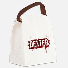 Dexter [grunge stencil] Canvas Lunch Bag