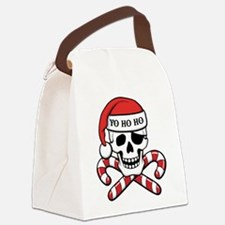 Christmas Pirate Canvas Lunch Bag