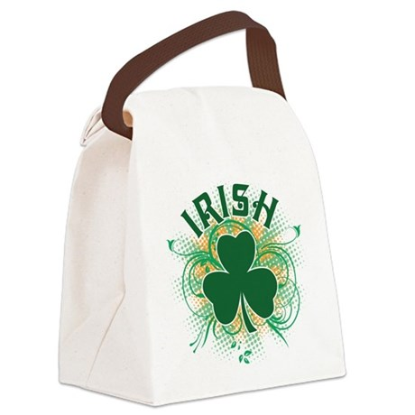 Irish [swirls] Canvas Lunch Bag