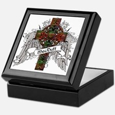 MacDougal Tartan Cross Keepsake Box