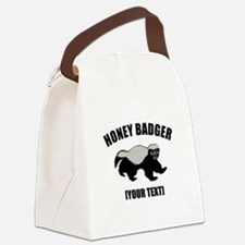 Honey Badger Custom Canvas Lunch Bag