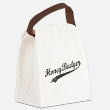 Team Honey Badger [b/w] Canvas Lunch Bag