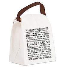Dad-isms Canvas Lunch Bag