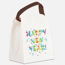 happy_ny.png Canvas Lunch Bag