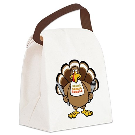 big_tukey.png Canvas Lunch Bag