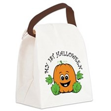 My First Halloween Canvas Lunch Bag