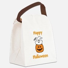 [Your text] Cute Halloween Canvas Lunch Bag