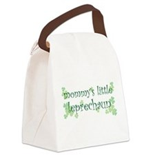 mom_lil_leprechaun.png Canvas Lunch Bag