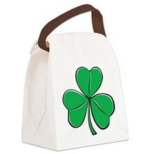 shamrock_b.png Canvas Lunch Bag