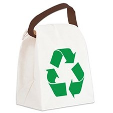 recycle_g.png Canvas Lunch Bag