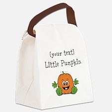 [Personalize] Little Pumpkin Canvas Lunch Bag