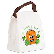 Mommy's Little Pumpkin Canvas Lunch Bag