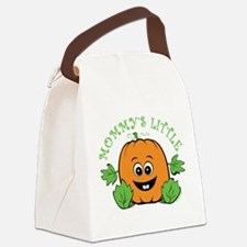 Mommy's Little Pumpkin Canvas Lunch Bag