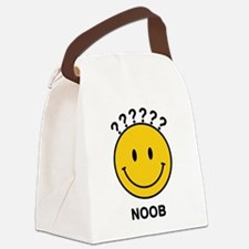 noob_smiley.png Canvas Lunch Bag