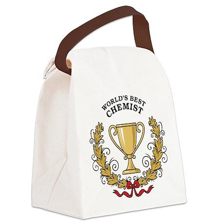 World's Best Chemist Canvas Lunch Bag