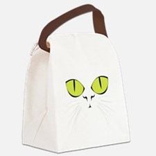 cat_face.png Canvas Lunch Bag
