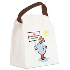frosty_b.png Canvas Lunch Bag