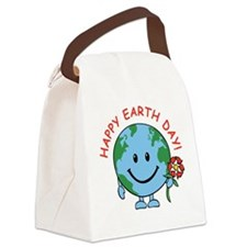 earth_funny_round.png Canvas Lunch Bag