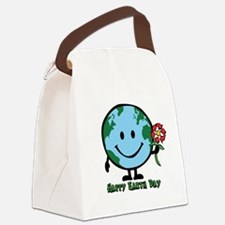 happyearth.png Canvas Lunch Bag