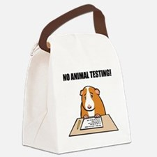 animal_testing_b.png Canvas Lunch Bag