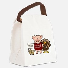 holiday_dinner.png Canvas Lunch Bag