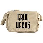 GrogHeads Text Logo Messenger Bag