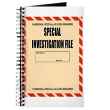 Special Investigation File Journal