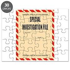 Special Investigation File Puzzle