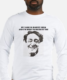 Funny Harvey milk Long Sleeve T-Shirt