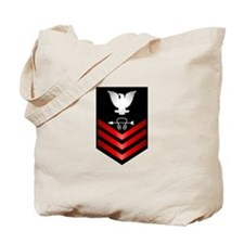 Navy Sonar Technician First Class Tote Bag