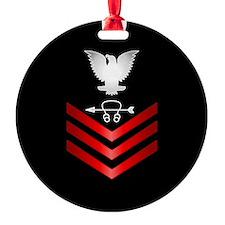 Navy Sonar Technician First Class Ornament