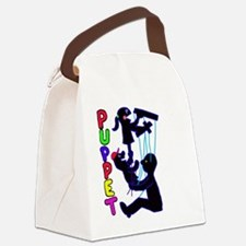 puppets Canvas Lunch Bag