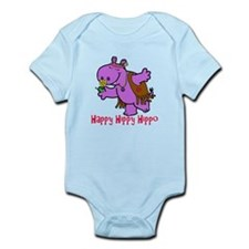 Happy Hippy Hippo Infant Bodysuit