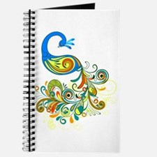 Bright Peacock Journal