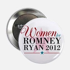 "Women for Romney Ryan 2012, Pink/Blue 2.25"" B"