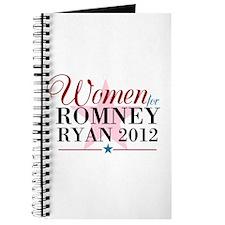 Women for Romney Ryan 2012, Pink/Blue Journal