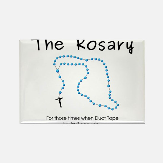 The Power of the Rosary Rectangle Magnet