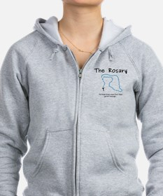 The Power of the Rosary Zip Hoodie